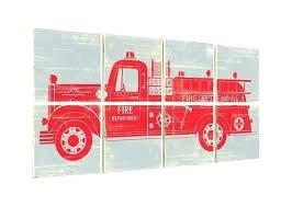 fire truck bedroom decor fire truck bedroom decor fire truck decor fire truck art firetruck decor