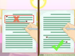 ways to use quotation marks in news articles wikihow image titled use quotation marks in news articles step 6