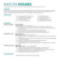 choose hotel receptionist resume sample