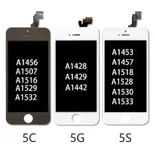 Grade <b>AAA++</b> LCD Pantalla for iPhone 5 5C 5S 3D Touch Digitizer ...