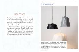 lighting trend. \u0027INTERIOR DESIGN TRENDS: SPRING 2017\u0027 THE EBOOK YOU CAN\u0027T MISS Interior Lighting Trend
