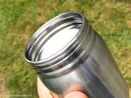 Image result for stainless steel mason jar