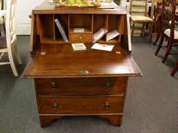 antique oak slant front secretary desk at hodges antiques