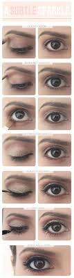 35 glitter eye makeup tutorials an eye for glitter eye makeup tutorial step
