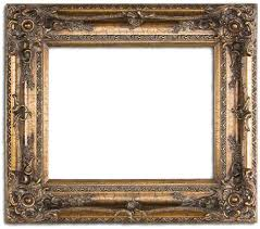 painting old picture frames