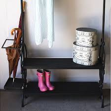 Coat And Boot Rack Black Umbrella Coat and Boot Rack 84