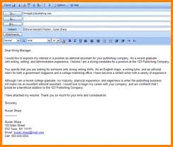 Mail Format For Sending Resume Excellent Email Resume Templatele