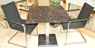 Esstisch Quadratisch Edelstahl Granit Tisch Quadratischjpg 140140