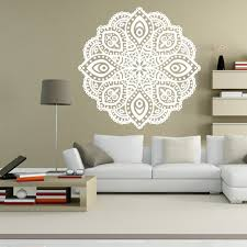 Small Picture Aliexpresscom Buy Buddhist Art Wall Stickers India Mandala