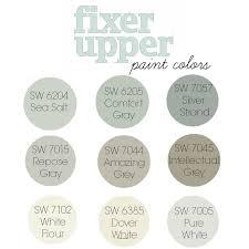 cottage paint colorsBest 25 Fixer upper paint colors ideas on Pinterest  Hallway