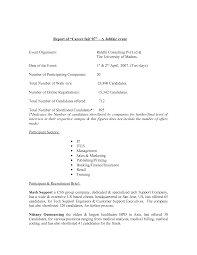 Resume Writing Format For Freshers