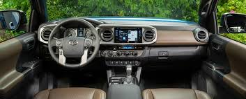 2018 toyota tacoma interior. features to help you worry less in the 2018 toyota tacoma interior