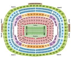 Fedexfield Tickets Seating Charts And Schedule In Landover