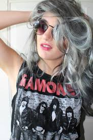 this is how my gray hair from the above faded a perfect silver