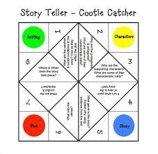 Cootie Catcher Template - Costumepartyrun