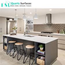 artificial pure white quartz stone countertop