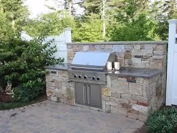 A 14  Outdoor Kitchen Stone Grill