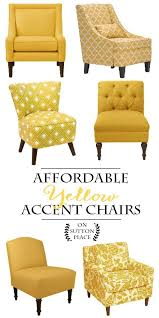 affordable yellow accent chair ping guide sylish decor doesn t have to be expensive