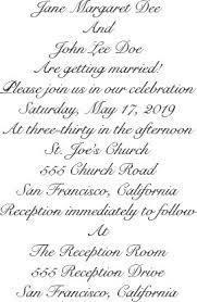 Sample Wedding Invitation Wording Best Wedding Invitation Wording Examples