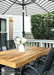diy patio table rustic patio table diy patio table top replacement