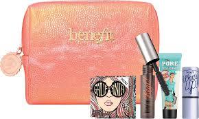 benefit hippie go lucky gift set bag with makeup 1 jpg