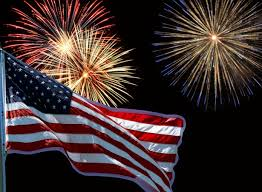 Flag And Fireworks Free Stock Photo Public Domain Pictures