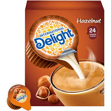 Add a splash of cream and enjoy a delicious cup of coffee! International Delight Coffee Creamer Singles Hazelnut 24 Count Pack Of 6 Amazon Com Grocery Gourmet Food