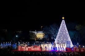 Dc White House Christmas Tree Lighting Christmas In Washington G7 In Us Medium