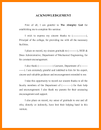 Acknowledgment Samples Sample Thesisknowledgement Pdf Examples