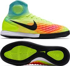 nike indoor soccer shoes. nike magistax proximo ii ic indoor soccer shoes (volt/black/hyper turquoise/total orange)