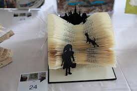 the recycled book art peion now in its fourth year aims to find the most creative reuse of an ex library book