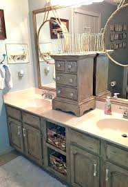 Painting bathroom vanity before and after Chalk Paint Bathroom Vanity Makeover Ideas Bathroom Vanity Makeover Bathroom Ideas Woodworking Projects Vanity After Dining Room Bathroom Vanity Makeover Ideas Precious Painting Bathroom Vanity