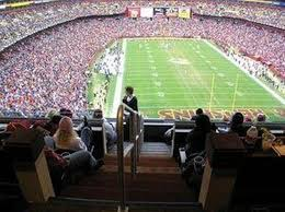 Fedex Field Loge Seating Chart Breakdown Of The Fedex Field Seating Chart Washington Redskins