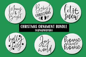 Are you searching for christmas hat png images or vector? Christmas Ornament Svg Bundle 6 Graphic By Mockup Venue Creative Fabrica