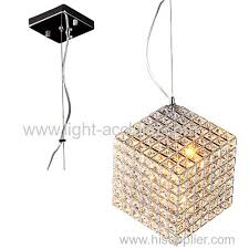 the three dimensional crystal chandelier creative square crystal lamp led crystal lamp