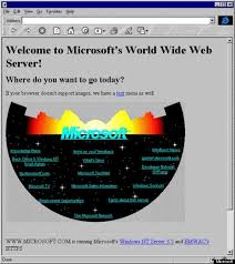 Micro Soft Home Page Microsoft Re Publishes Its 1994 Homepage To Remind You It Was Cool