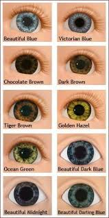 Real Eye Color Chart Eye Color Eye Color Chart Eye