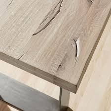 real wood dining tables uk. close up of the modena solid wood table top. due to natural characteristics real dining tables uk