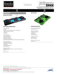 Hercules Djcontrol Glow Controller With Led Light And Glow Effects Controllers Manualzz Com