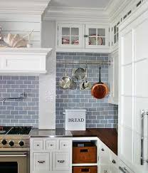 Kitchen With Subway Tile Backsplash Concept