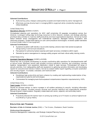 Military Civilian Resume Template