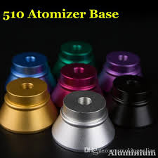 Suit Display Stands Wholesale Newest Aluminum Atomizer Base Multicolor Big Metal Ecig 84
