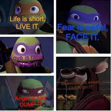 Ninja Turtle Quotes Fascinating Quotes To Live By Teenage Mutant Ninja Turtles Pinterest TMNT