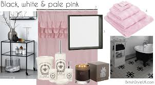 black and pink bathroom accessories. Interesting Accessories Pale Pink Bathroom Accessories  My Web Value Intended Black And Pink Bathroom Accessories