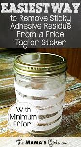 easiest way to remove sticky residue from a sticker or tag