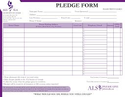 Walkathon Pledge Form Templates Pledge Fundraising Magdalene Project Org