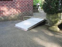 diy wheelchair ramp how to build a handicapped space
