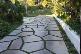 Landscape Hardscape Design The Home Design  The Right Materials Backyard Driveway Ideas