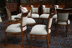 10 upholstered dining room chairs model 3028