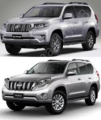 2018 toyota land cruiser. modren cruiser 2018 toyota land cruiser prado vs 2014 front  three quarters with toyota land cruiser y